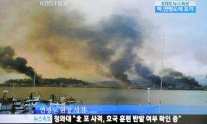 N Korea Firing at S Korea